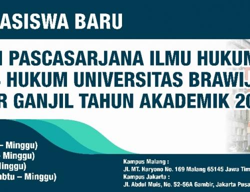 Pendaftaran Mahasiswa Baru Program Pascasarjana Tahun Akademik 2017/2018