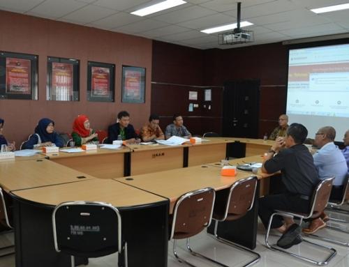Kunjungan dari Departemen Agribisnis IPB di Fakultas Hukum UB