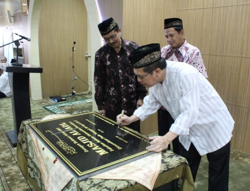 Fakultas Hukum UB Resmikan Masjid Al Adl