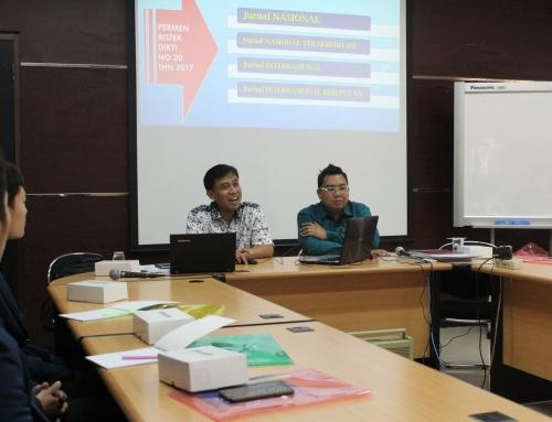 Arena Hukum dan BLJ Selenggarakan Workshop Bertajuk Persiapan Pengajuan Akreditasi Jurnal Ilmiah FHUB