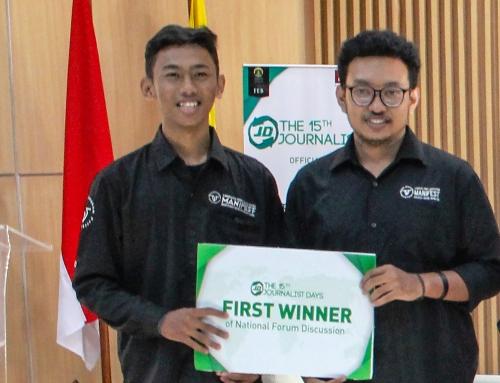 Muhammad Faisal Haris Meraih Juara 1 di FEB UI