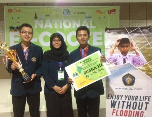 FHUB Meraih Juara 3 di Kompetisi Karya Ilmiah National Es-Cooter 2017