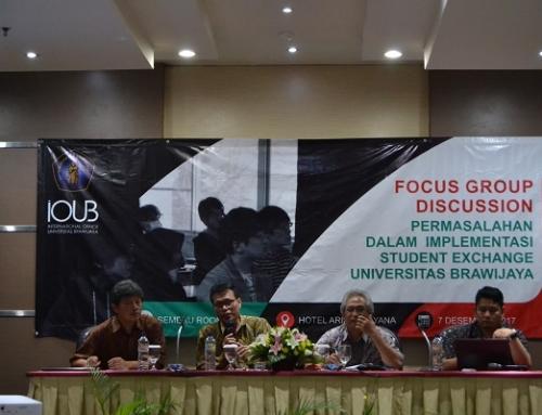 """FGD """"Student Exchange Problem Implementation"""" yang diselenggarakan oleh IOUB"""