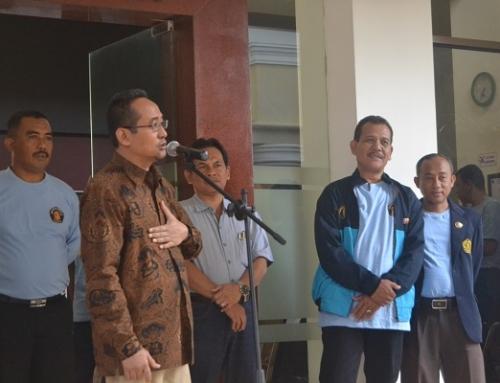 Pemberangkatan Peserta Program Pemberdayaan Masyarakat (PPM) ke Kecamatan Poncokusumo