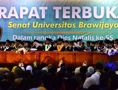 Rapat Terbuka Senat dan Orasi Ilmiah Dies Natalis ke-55 Universitas Brawijaya