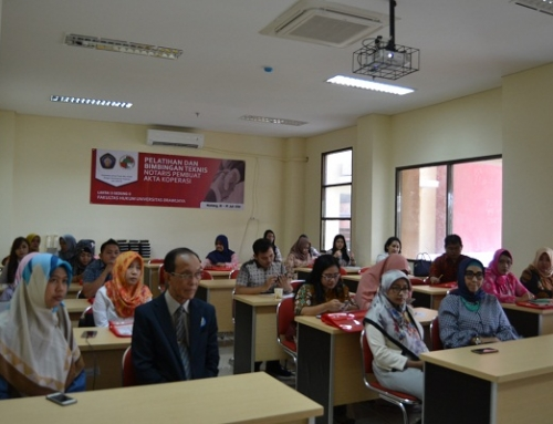 Training and Technical Guidance of Notary to Manufacture of Cooperative Deed