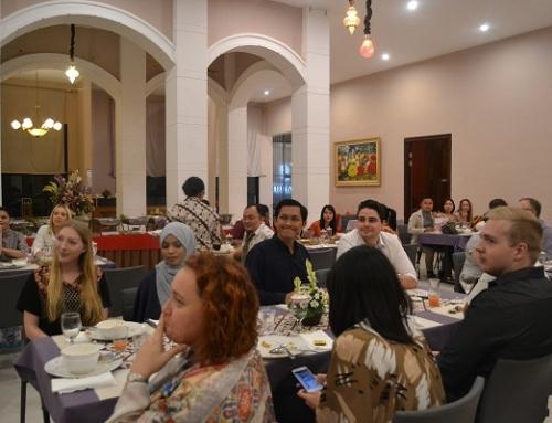Farewell Dinner of Student Exchange from NewCastle University, Australia