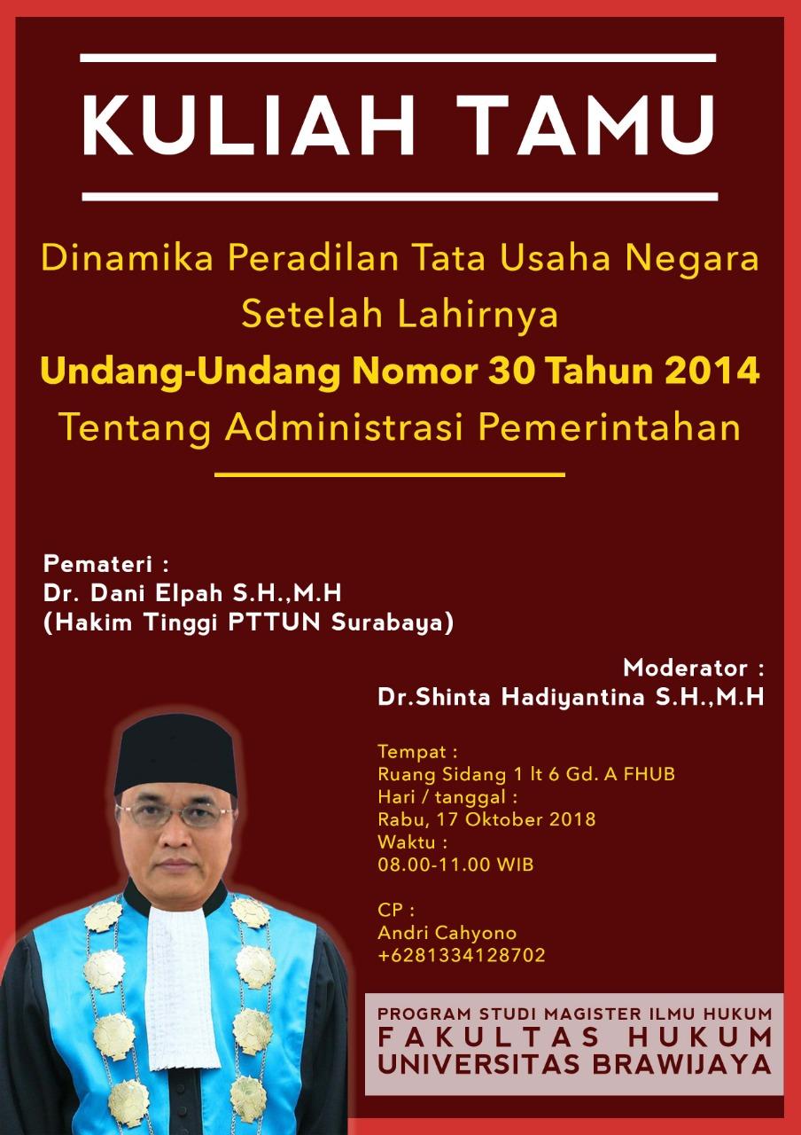 Seminar Nasional Perdata 2018