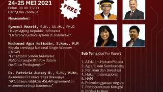 """Read more about the article Seminar Nasional – Call For Paper """"Artificial Intelligence dalam Bidang Hukum di Era Teknologi Informasi: Tantangan dan Peluang"""""""