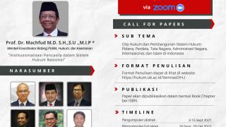 Read more about the article Seminar Nasional dan Call for Papers Program Doktor Ilmu Hukum Kampus Jakarta
